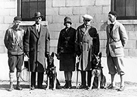 In February, 1929, the first class graduated from The Seeing Eye.