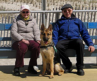 Ralph and Verna raise puppies in their retirement