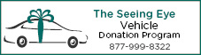 The Seeing Eye Vehicle Donation Program